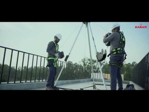 Confined Space Solutions Tripod I KARAM Product