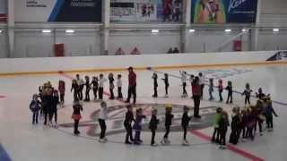 Танец маленьких утят   Ледовая арена Альтаир  г  Дружковка  31 05 2015  Маленькие утята