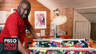 PBS NewsHour: Jacob Lawrence reframed early American history with 'Struggle' thumbnail