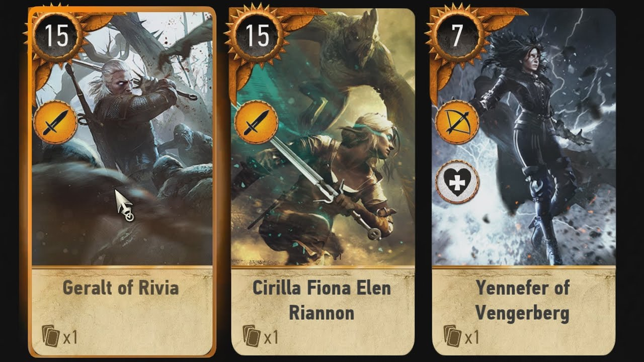 Gwent card locations the witcher 3 - Ballad Heroes Dlc Freelc Gwent Cards The Witcher 3 Wild Hunt Youtube