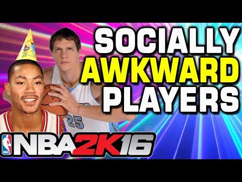 NBA 2K16 Socially Awkward Challenge