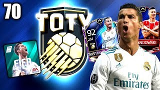 TEAM OF THE YEAR EVENT! 😱😳 FIFA 18 MOBILE #70
