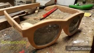 DIY: Sonnenbrille aus Holz selber bauen