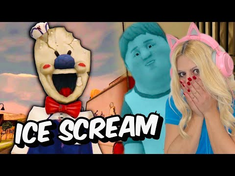 Παίζω Ice Scream Horror Game για πρώτη φορά Let's Play Kristina