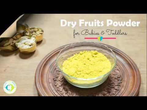 How to make Dry Fruits Powder for Babies and Toddlers
