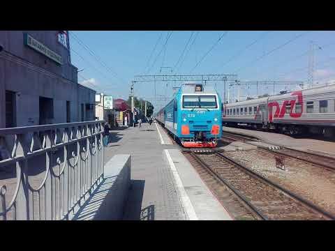 Маршрут поезда 045Е Екатеринбург Пасс → Кисловодск