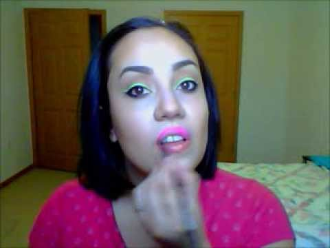 Demi Lovato-Neon Lights Official (Makeup) - YouTube