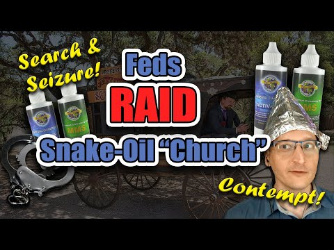 """Feds RAID """"Miracle Cure"""" """"Church"""" in Florida"""