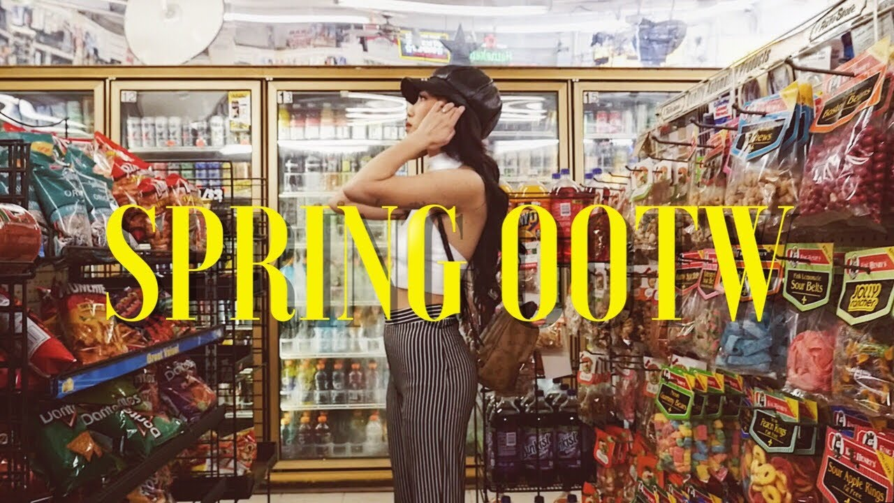 [VIDEO] - SPRING OUTFITS OF THE WEEK 2018 | Birthday Week Outfits! 4