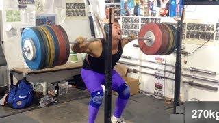 Latest Comeback PR - 280kg Squat / 617 pounds