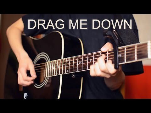 Drag Me Down (Instrumental Acoustic Guitar Cover) Chords - One Direction