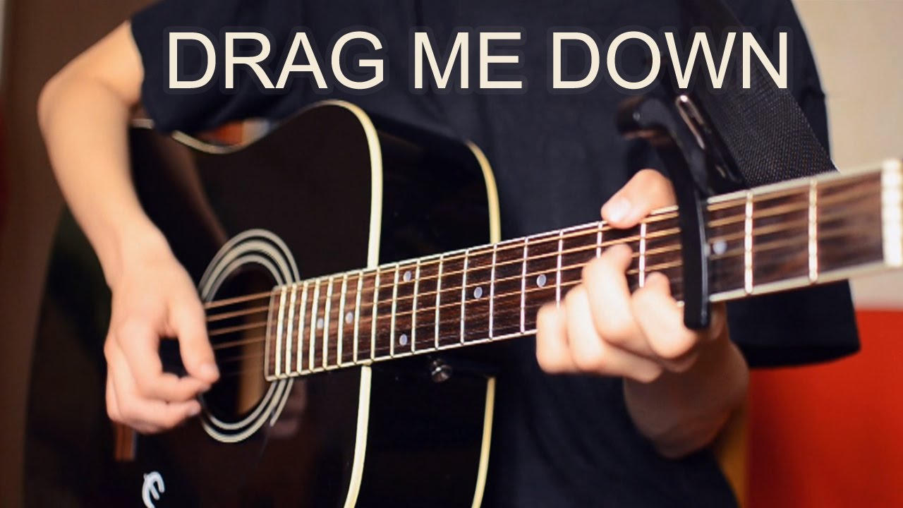 Drag Me Down Instrumental Acoustic Guitar Cover Chords One