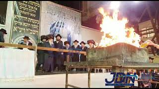 Lag Baomer 5781 With Pinsk Karlin Rebbe in Yerushalayim