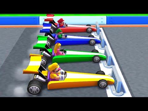 Mario Party Series - Vehicle Minigames (Master CPU)