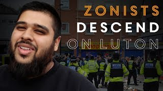 Zionists visit Luton's heavily Muslim area of Bury Park