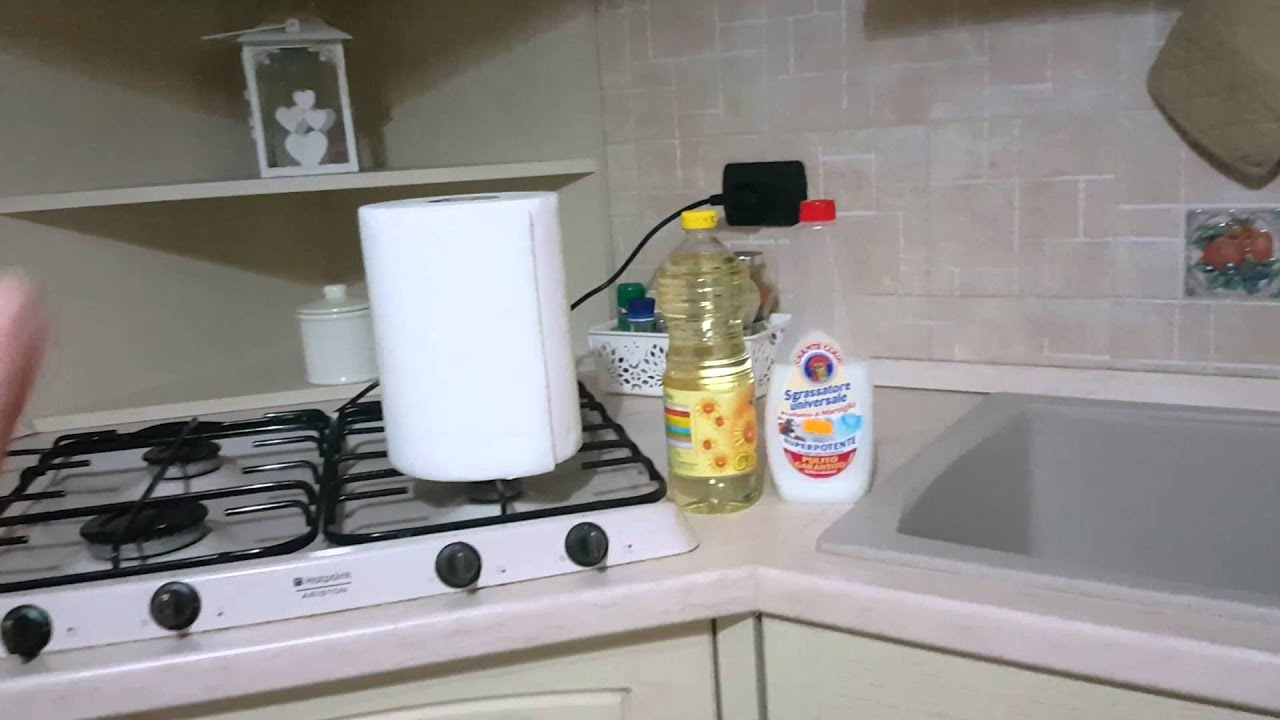 Pulizia Mobili Cucina Legno : Metodo infallibile per pulire la cappa della cucina youtube