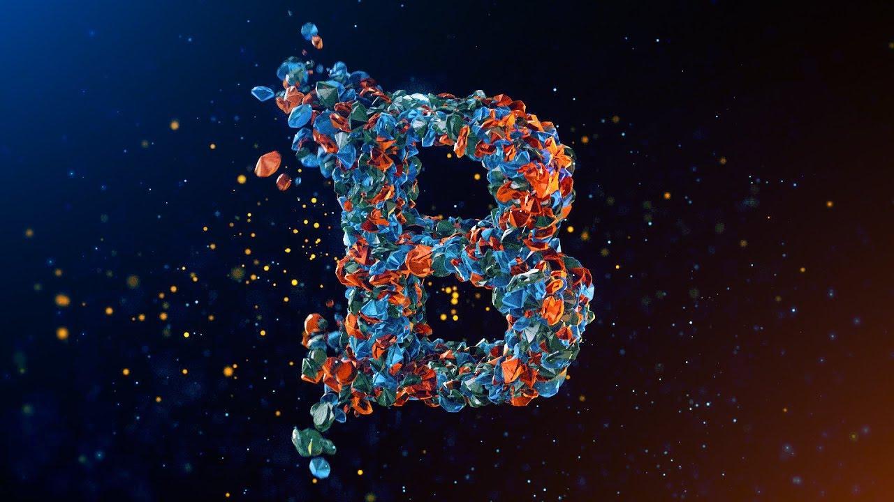 Element 3D Particle Replicator Logo II After Effect II 2019