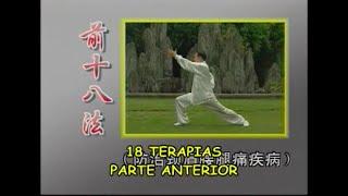 DESCRIÇÃO da 1ª série - 18 TERAPIAS PARTE ANTERIOR