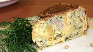 Пирог из лаваша с фаршем / Быстрые рецепты для мультиварки