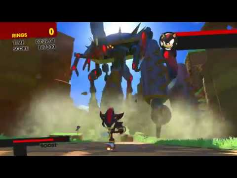 More Unused Dialogue Found in Sonic Forces (Episode Shadow's Virtual Reality)