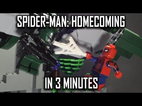 SPIDER-MAN: HOMECOMING (2017) IN 3 MINUTES