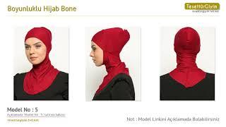 Boyunluklu Hijab Bone Bone Modelleri
