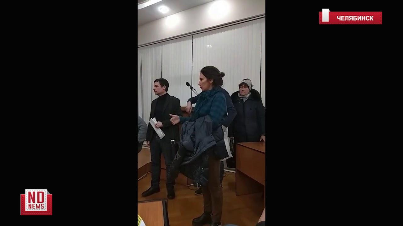 Мэр Челябинска общается с задыхающимся народом