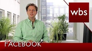 Manipulation von Nutzer-Inhalten durch Facebook ist rechtswidrig! | Kanzlei WBS