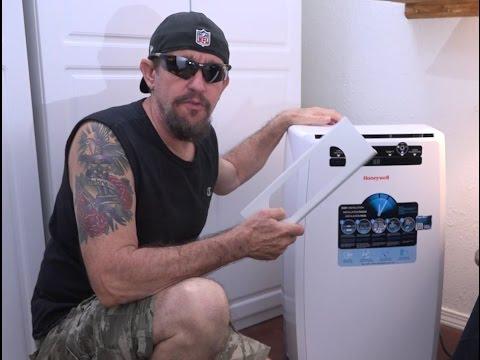 Ventilating A Portable Air Conditioner Thru A Wall