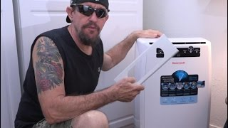Ventilating A Portable Air Conditioner Thru A Wall