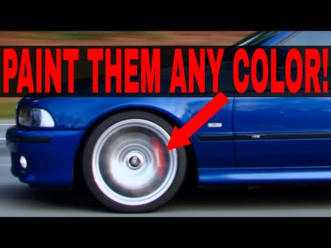Paint Brake Calipers Without Removing Them The Secret To