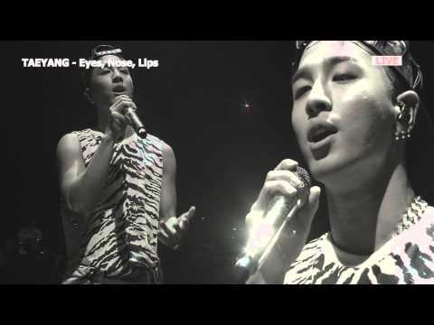 MR Removed TAEYANG-Eyes, Nose, Lips(BW) part 1/2