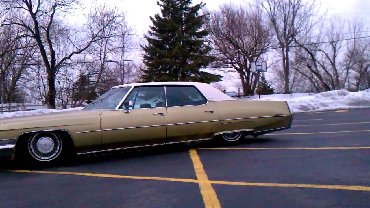 1972 Cadillac DeVille wisconsin - YouTube
