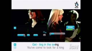 SingStar ABBA PlayStation 2 Gameplay - Dancing Queen