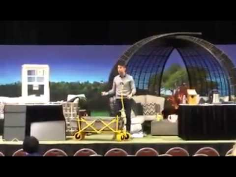 The original folding wagon featured at the minneapolis - Home and garden show minneapolis ...