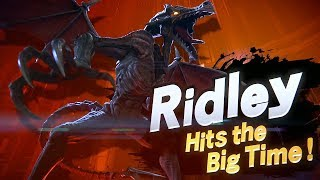 Super Smash Bros Ultimate (Switch) - RIDLEY Reveal Trailer @ 1080p HD ✔