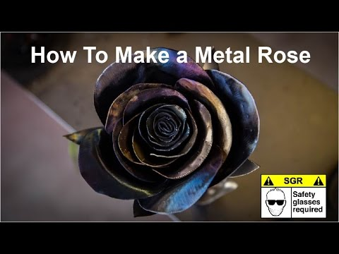 photograph about Metal Rose Template Printable identified as How in direction of Deliver a Metallic Rose