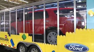 Ford Explorer Now 100 Percent Reinvented in LEGO® Bricks