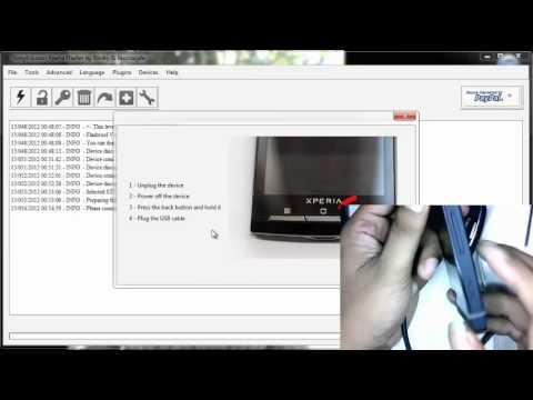 Flashing Sony Xperia U ST25