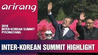 2018 INTER-KOREAN SUMMIT PYEONGYANG HIGHLIGHT - CARPARADE