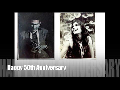 50th Wedding Anniversary Video (Golden Jubilee)