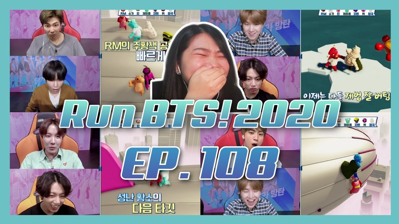 Run BTS! 2020 - EP.108 REACTION (BTS Game Team 2)
