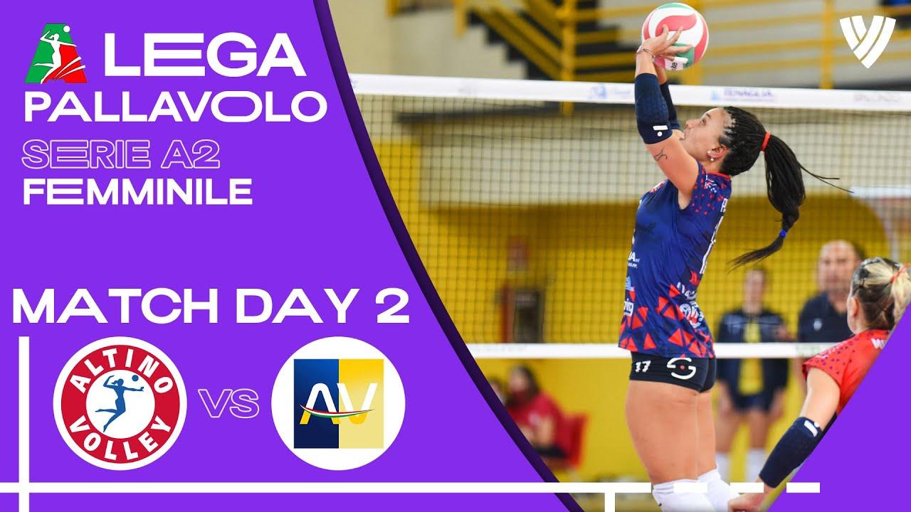 Altino Volley vs. Sant'Elia - Full Match | Women's Serie A2 | 2021