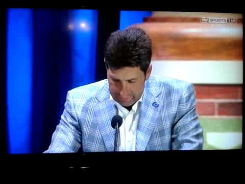 Jose Maria Olazabal acceptance speach Ryder Cup 20