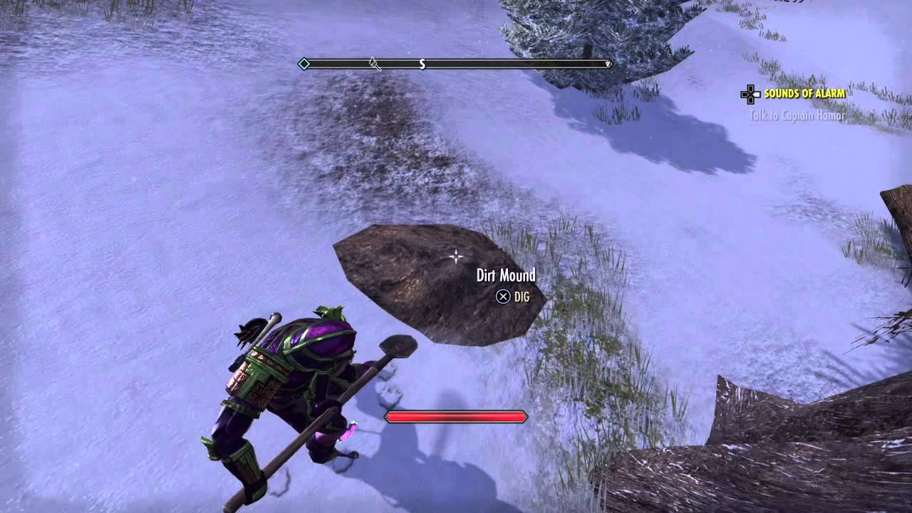 eso eastmarch ce treasure map location youtube