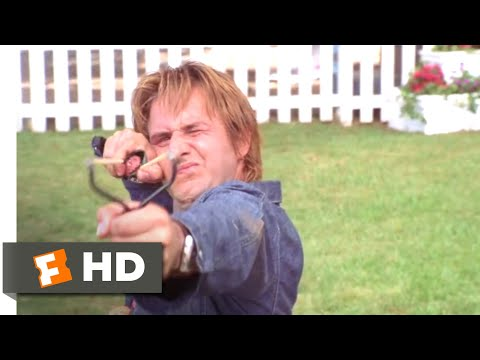 See Spot Run (2001) - The Mailman Fights Back Scene (7/8)   Movieclips
