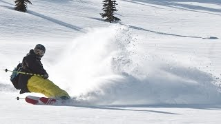 Eric Pollard & Line Skis Shred Mt Hood Meadows