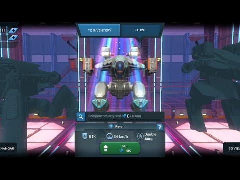 War Robots 3.8 Update is Here!!!!!!!! New Robot Raven - Flux - Ballista