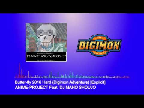 [Dangdut House / Funky Kota] ANIME-PROJECT Feat DJ MAHO SHOUJO - Butter-fly 2016 Hard [Explicit]