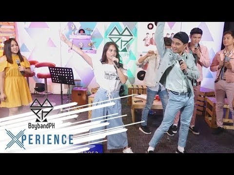 #BoybandPHXWansa: BoybandPH teaches Elisse how to dance